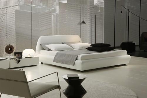 weißen große möbel für die schlafzimmereinrichtung