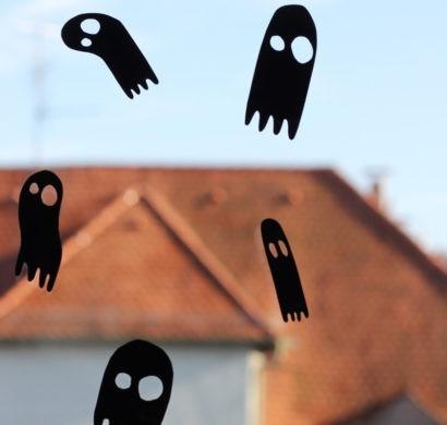 Halloween Fensterdeko Schaurige Fensterbilder Furs Gruselfest