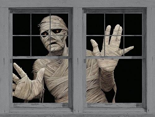 Halloween Fensterdeko Zombie WOW-Effekt