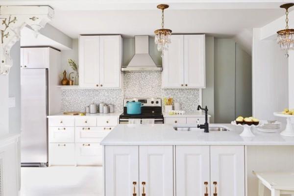 Küchendesign Ideen Retro Elemente