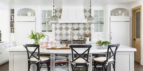 Küchendesign Ideen ausgefallene Küchenrückwand
