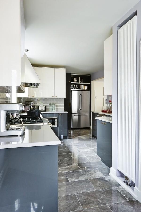 Küchendesign Ideen eleganter Raum moderne Küchenschränke