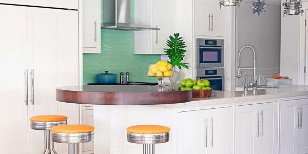 Küchendesign Ideen renovierte Küche Kücheninsel