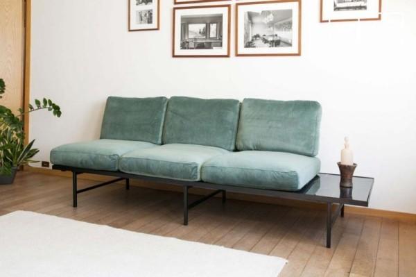 Sofa mit integriertem Tisch Dreisitzer
