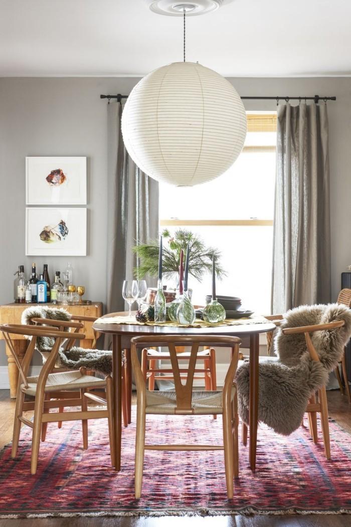 Tischdeko Ideen zu Weihnachten das Zimmer kuschelweich