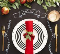 Tischdeko Ideen zu Weihnachten für mehr Glanz und Glamour zuhause