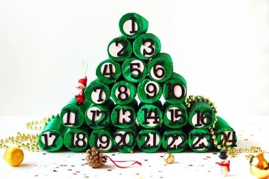 Basteln Mit Klorollen Zu Weihnachten 60 Einfache Diy Projekte Zum
