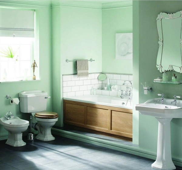 alles minze badezimmergestaltung