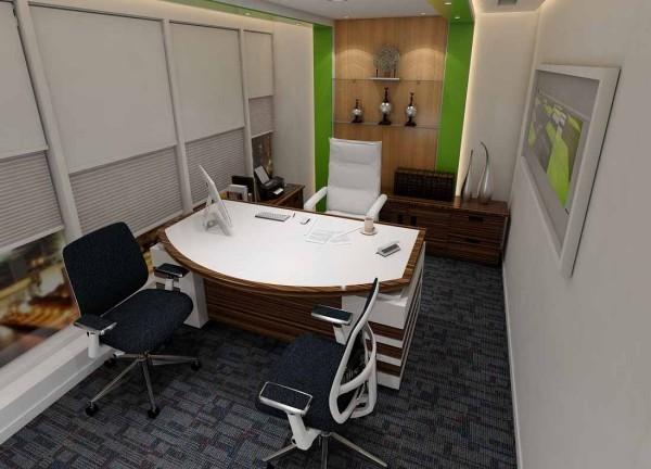 arbeitszimmer einrichten tolle ideen mit hellen wänden