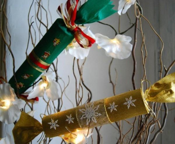 ausgefallene weihnachtsdeko selber machen geschenkideen