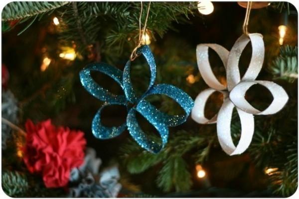 ausgefallene weihnachtsdeko selber machen weihnachtsbaum dekorieren