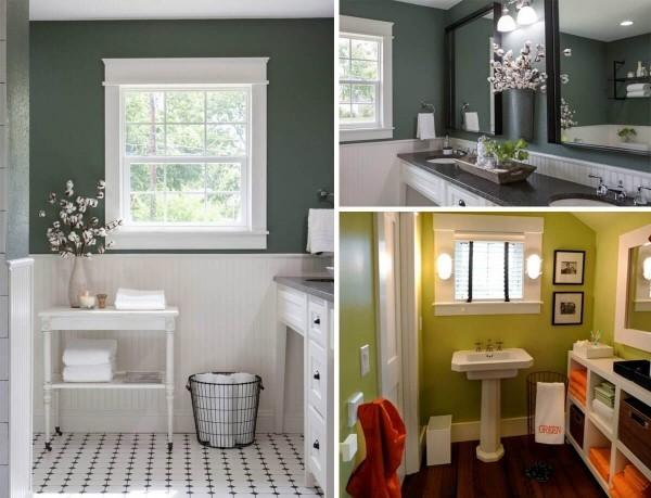 badezimmergestaltung drei ideen