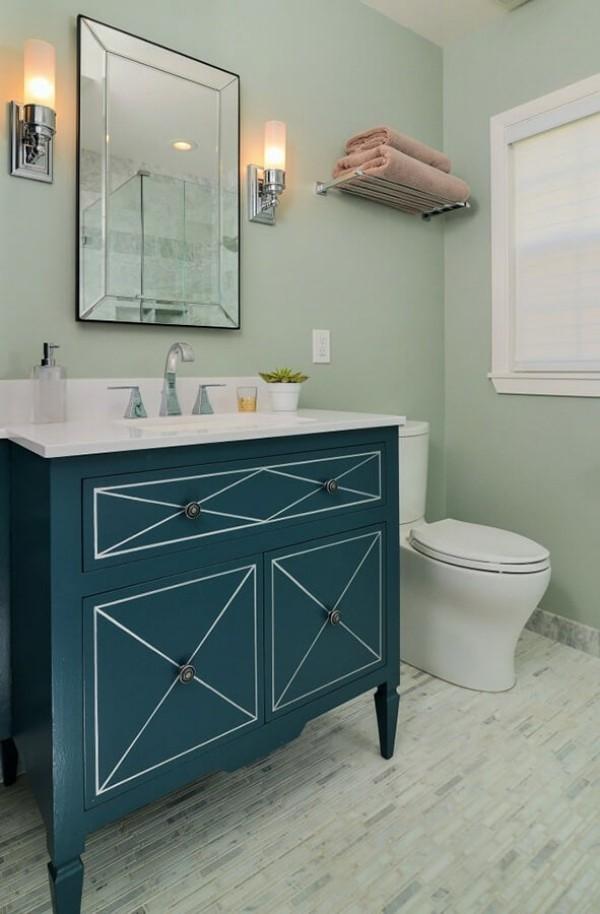 badezimmergestaltung mehrere modernen grüns