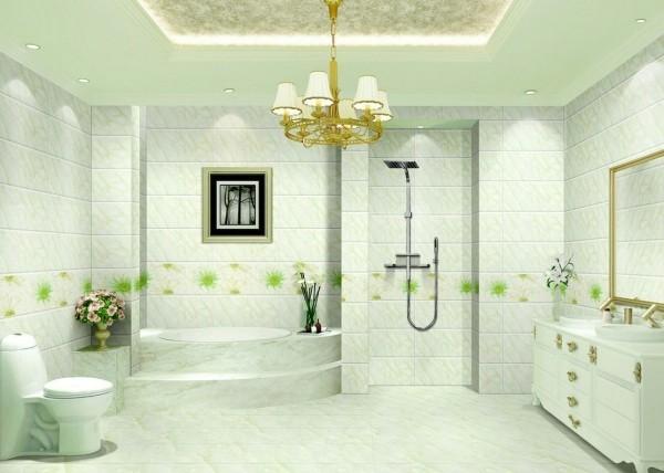 badezimmergestaltung sehr helle minze