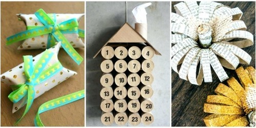 38 Inspirational toilet Paper Roll Flowers Designs of diy projects with toilet paper rolls