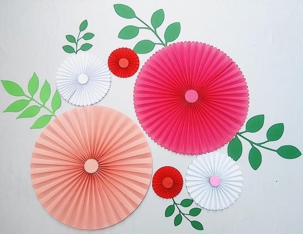 basteln mit krepppepapier japanischer stil