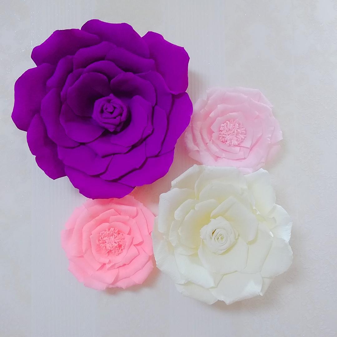 basteln mit krepppepapier wundervolle blüten