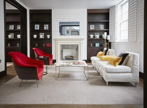 brauntöne interior ideen wohnzimmer