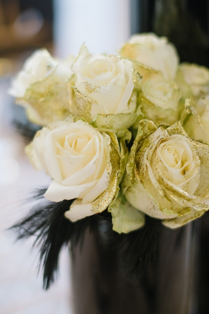 deko ideen großartige rosen