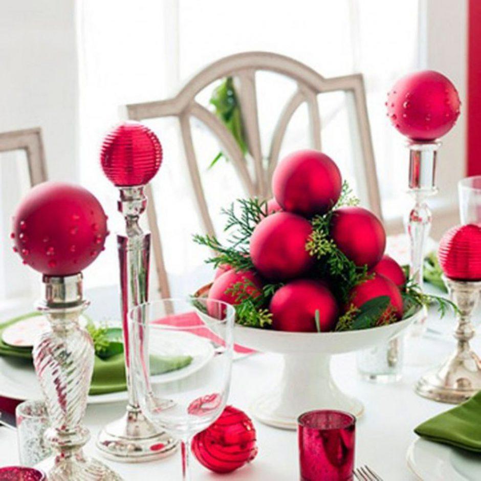 deko mit weihnachtskugeln weihnachtsbastelideen