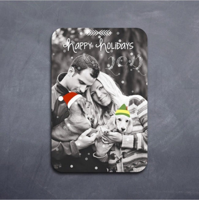 ein tolles foto weihnachtskarten basteln