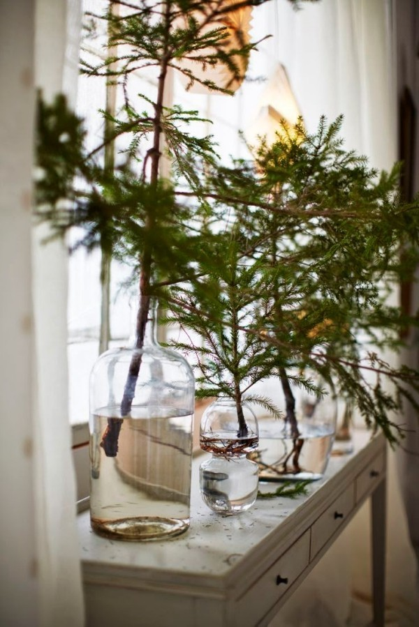 einfache deko fürs fenster weihnachtenbastelideen