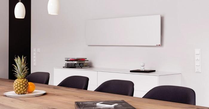 elektroheizung in einem modernen büro