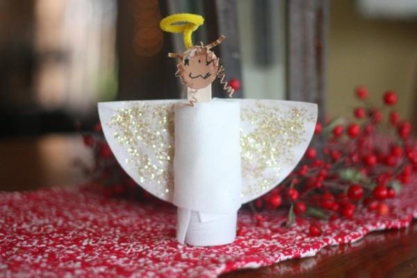 engel ausgefallene weihnachtsdeko selber machen