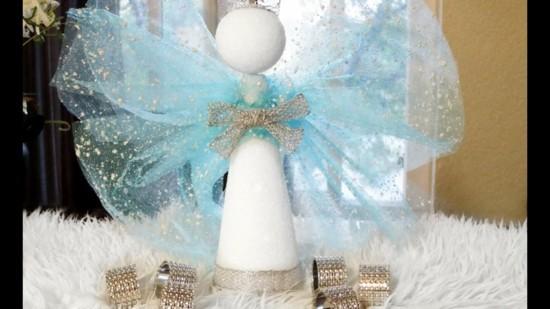 engel basteln als weihnachtsgeschenk