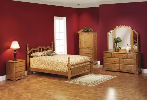 farben wohnzimmer purpurote farbe für die wand