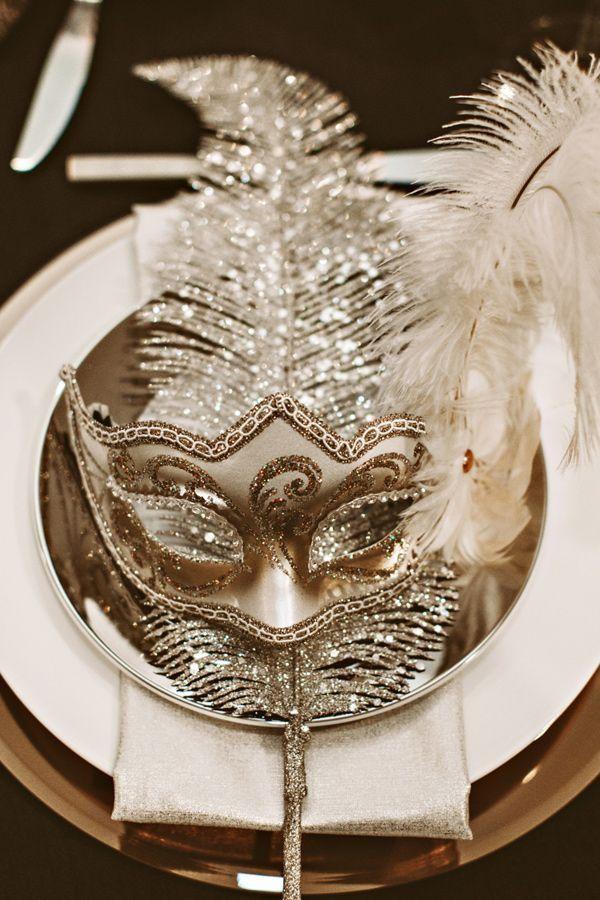 festliche maske als deko ideen inspiration