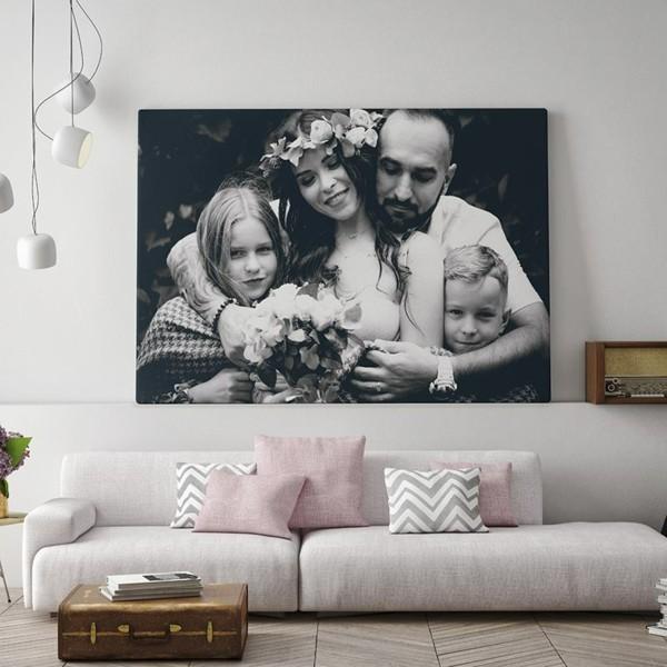 fotogeschenke familienfoto wanddeko