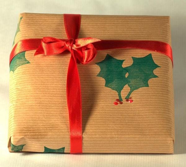 geschenkpapier band und andere grüne muster ideen