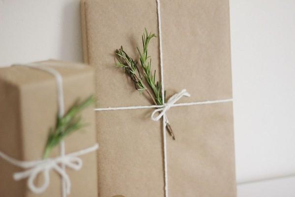 geschenkpapier dezente grüne deko
