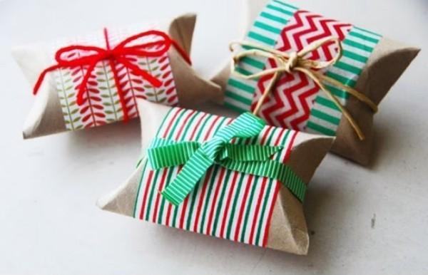 geschenkpapier diy für kleine gaben