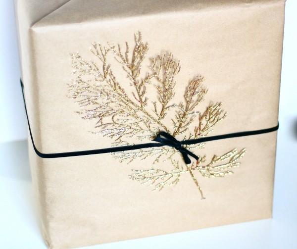 geschenkpapier glänzende prints