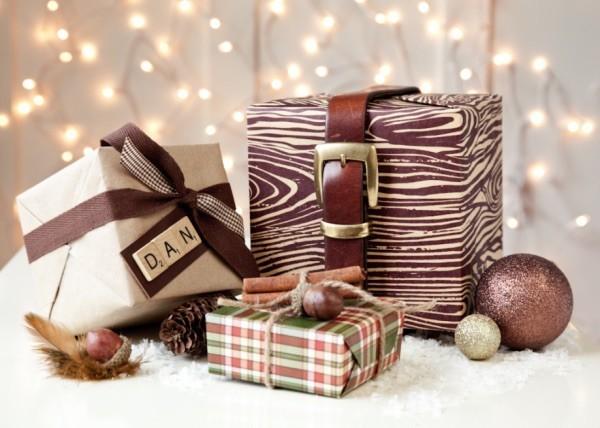 geschenkpapier glanz und stil