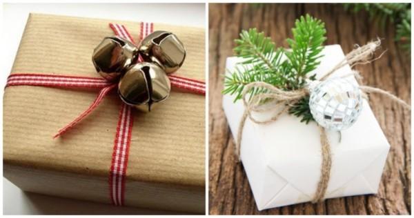 geschenkpapier kleine gaben als deko