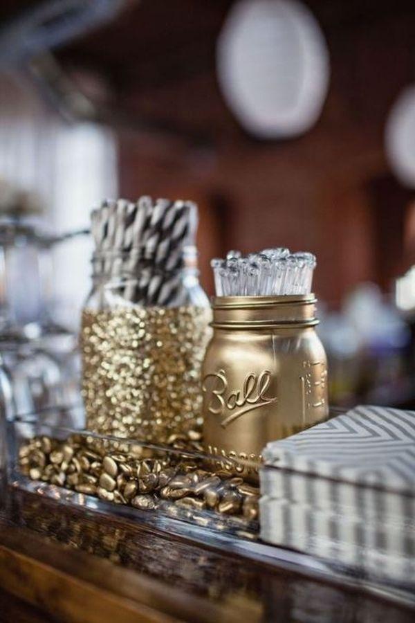 goldene accessoires deko ideen
