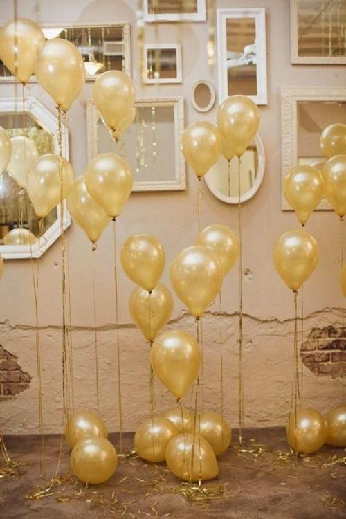 goldene gestaltung deko ideen