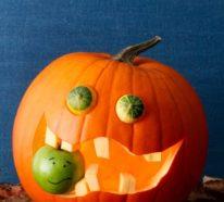 Halloween Kürbisse schnitzen und dekorieren – über 60 effektvolle und aktuelle Ideen