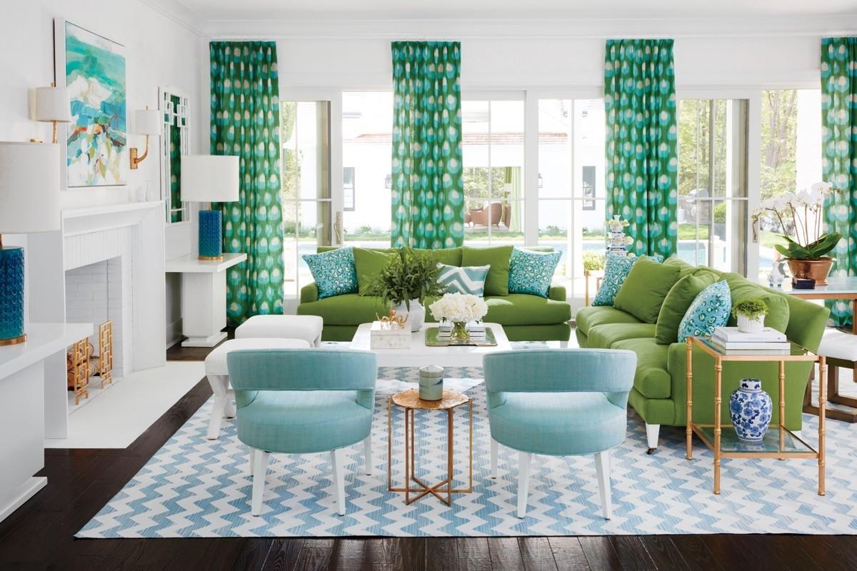 Moderne Wohnzimmer-Farben - Trendge Einrichtungsideen in ...