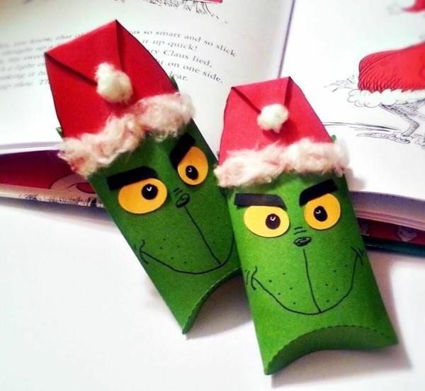 grinch geschenkbox basteln ausgefallene weihnachtsdeko selber machen