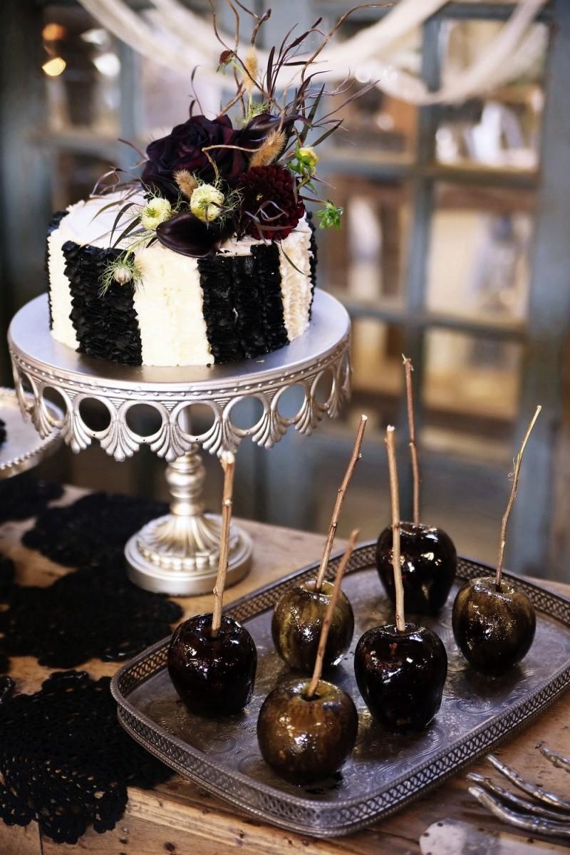 halloween deko leckere desserts und kuchen