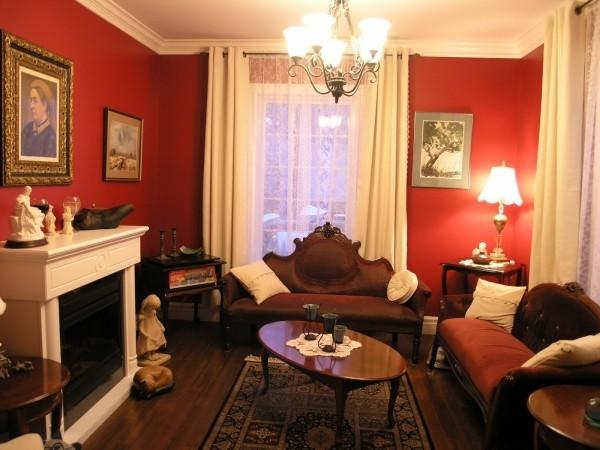 helleres rot für die wand farben wohnzimmer
