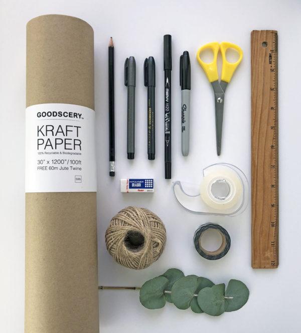 idee und alle tolle materialien geschenkpapie
