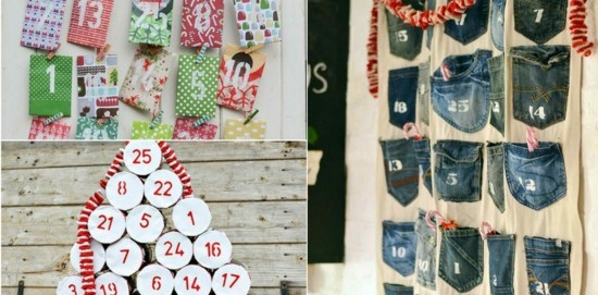 jeans ausgefallene adventskalender selber basteln