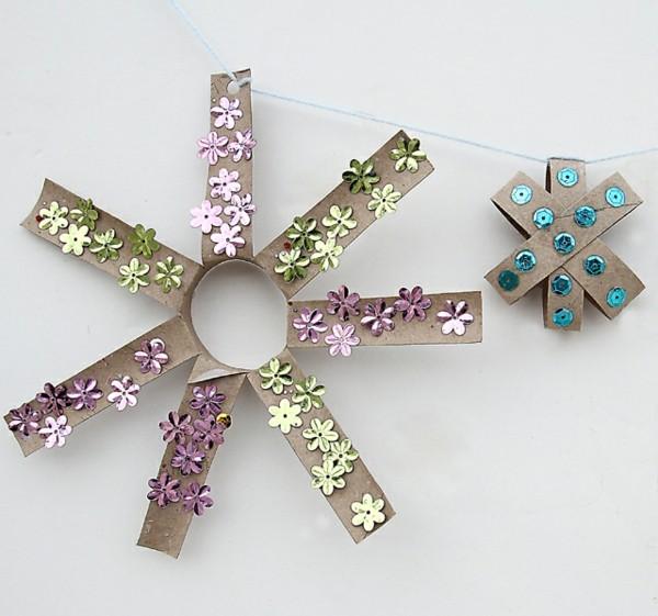 kreative weihnachtssterne ausgefallene weihnachtsdeko selber machen