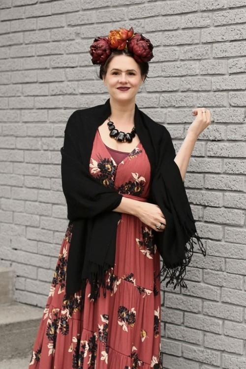 leicht nachzuahmen Frida Kahlo Halloween Kostüme