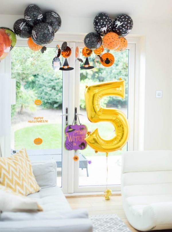 luft balloons halloween deko